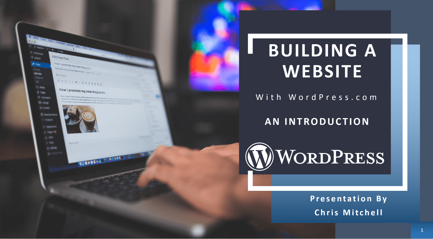 build WordPress website