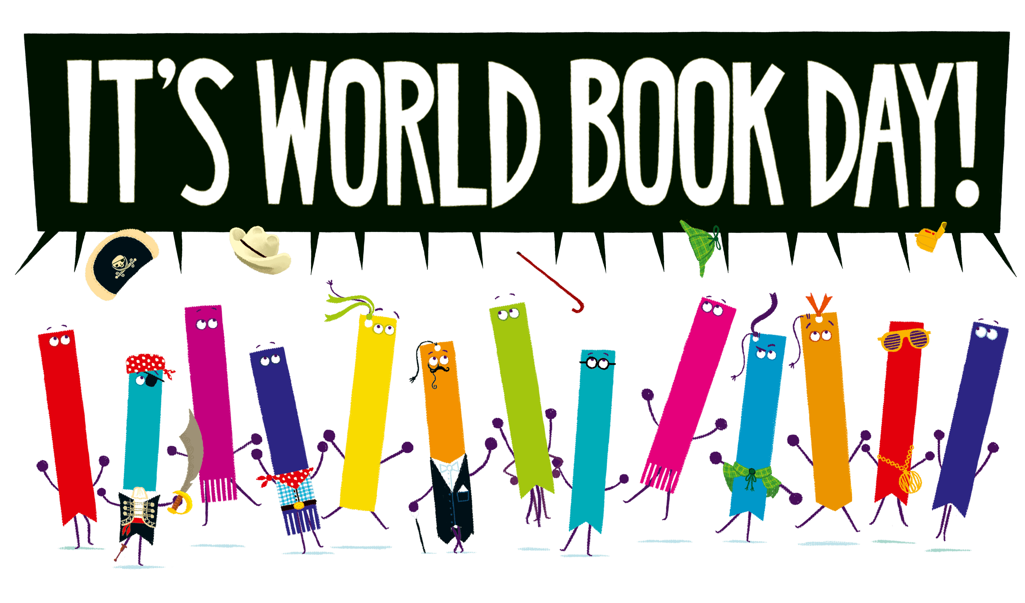 World Book Day 2020. Illustrations © RobBiddulph