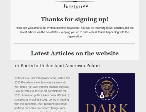 The Writers Initiative – Newsletter