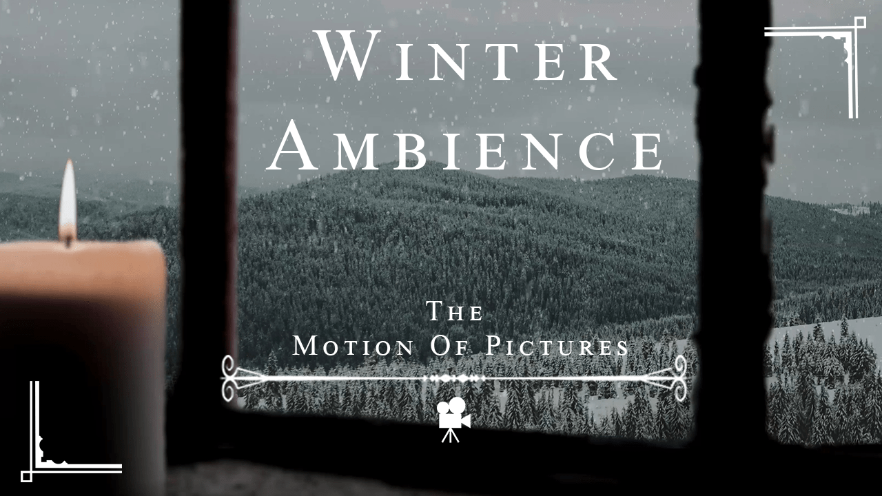 Winter time Ambience – Great Background Video for when Writing