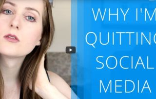 why my quitting social media