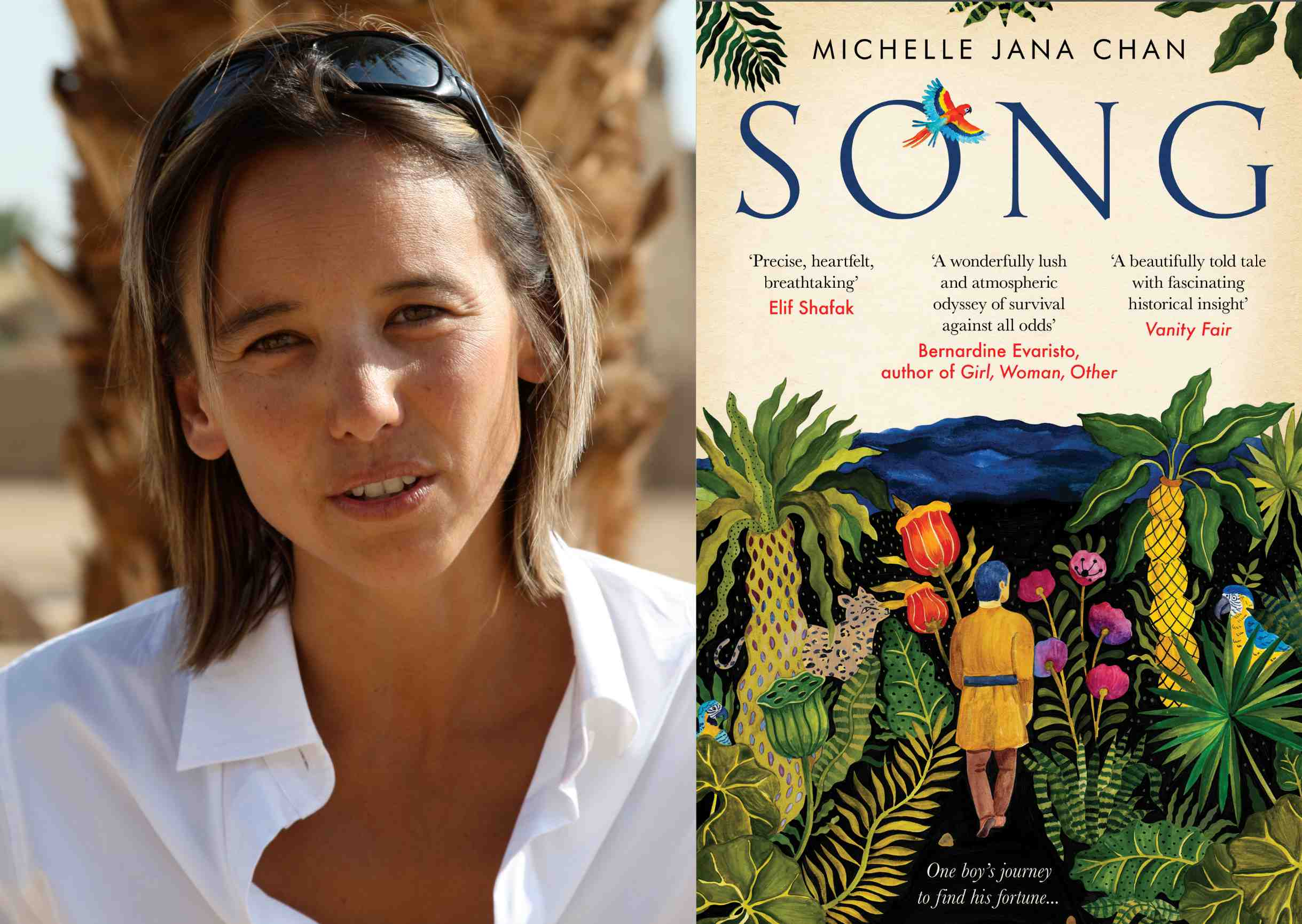 Book Reading and Q&A session | with Author and Vanity Fair Travel Editor | Michelle Jana Chan
